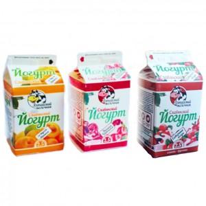 Йогурт «Славянский» мдж 2,5% (в ассорт.)