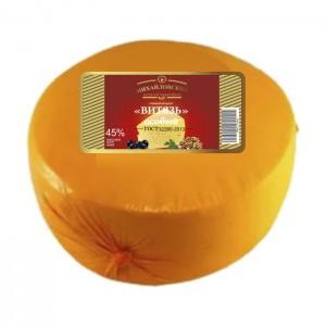 """Сырный продукт """"Витязь особый"""" мдж 45% пленка"""