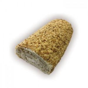 Рулет Бисквитный кремовый с орехом