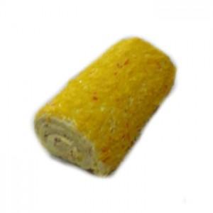 Рулет Бисквитный сливочно-фруктовый «Апельсин»